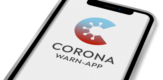 Corona, Warn-App, Handy