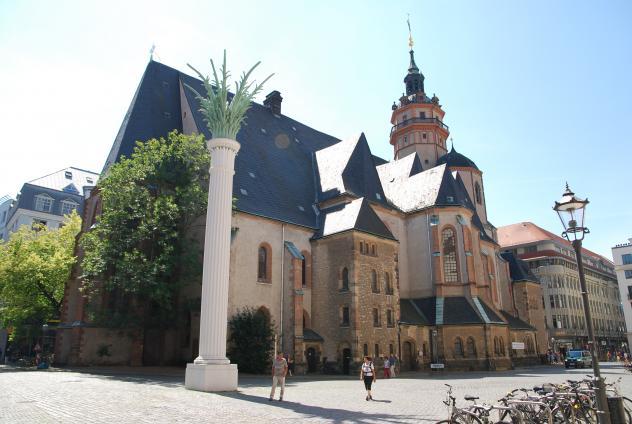 Die Leipziger Nikolaikirche. © St. Nikolai/PR