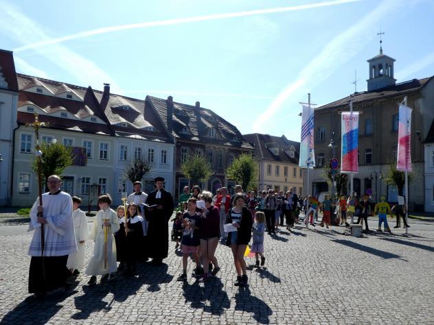 Ökumenischer Gottesdienst beim Friedensfest Ostritz