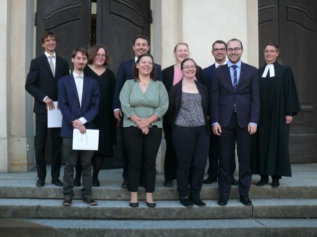Neun junge Theologinnen und Theologen beginnen ihren Vorbereitungsdienst in Sachsen
