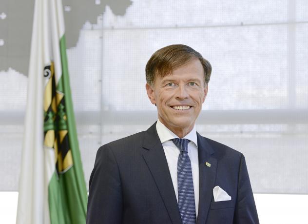 Sachsens Landtagspräsident Matthias Rößler (CDU)