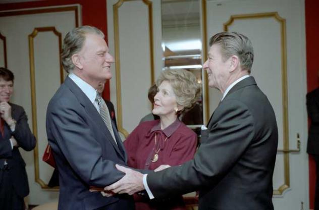 Billy Graham, Ronald Reagan