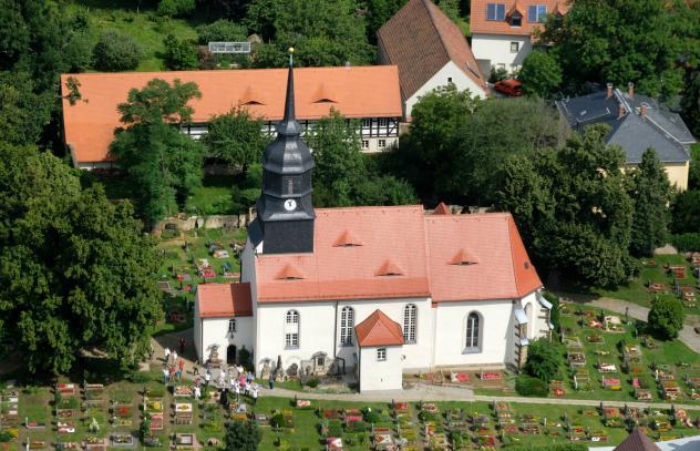 Radebeul, Moritzburg, Reichenberg, Rundflug, Kirchspiel in der Lößnitz
