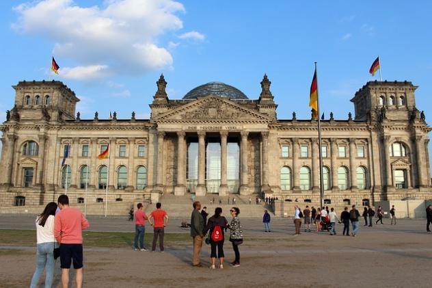 Reichstag, Bundesregierung, Berlin, Deutschland, Vertrauen, Corona
