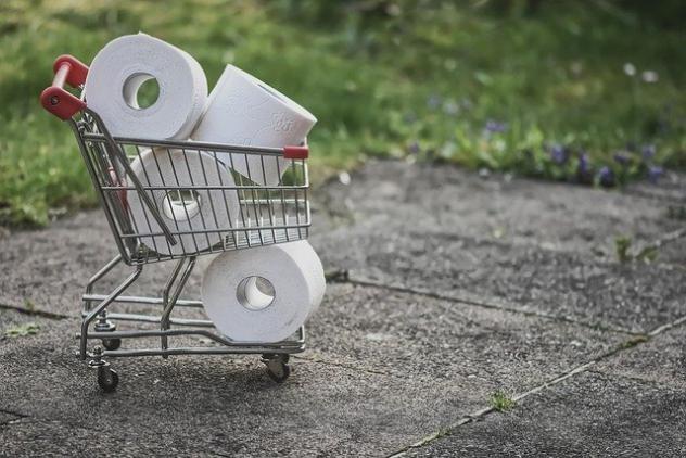 hamstern Toilettenpapier Hygiene Corona Angst