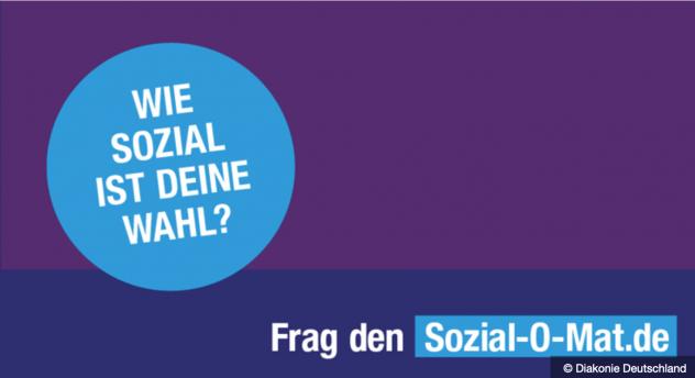 Sozial-O-Mat, Positionen, Parteien, Bundestagswahl, Diakonie