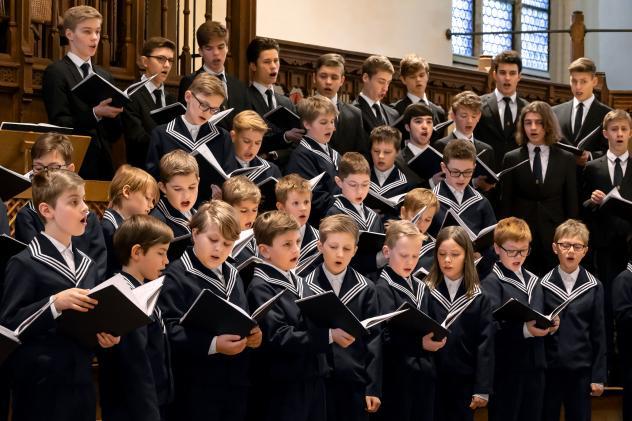 Der Thomanerchor wird an Bachs 335. Geburtstag eine Motette singen, sie ist dann online zu hören. © Thomanerchor/M. Knoch