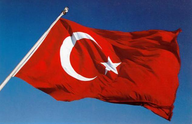 Flagge Türkei Turkey