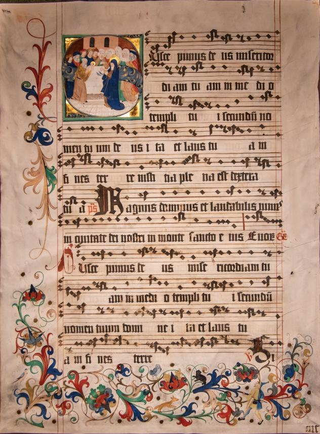 Chorbuch der Naumburger Domstiftsbibliothek
