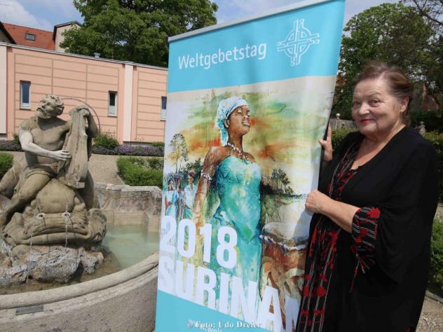 Marianne Sägebrecht Weltgebetstag Surinam