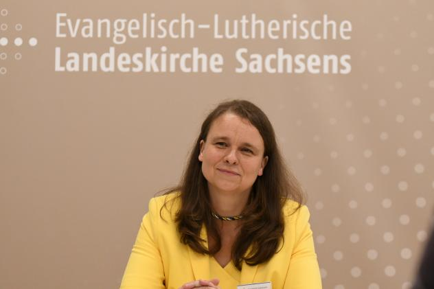 Synodalpräsidentin Bettina Westfeld