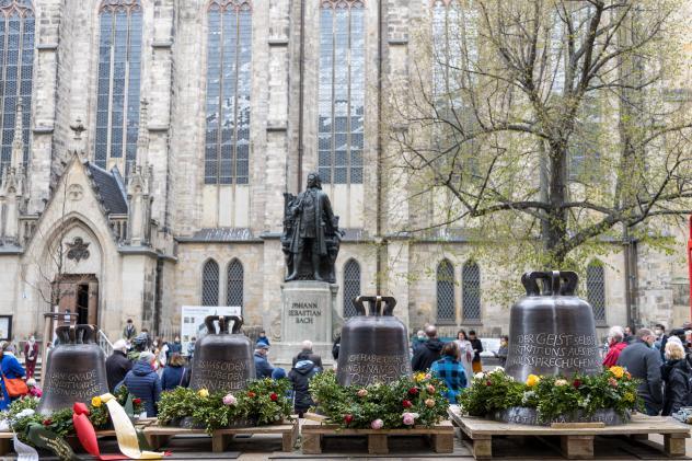 Thomaskirche Leipzig, Glocken, Johann Sebastian Bach, Thomaskirche