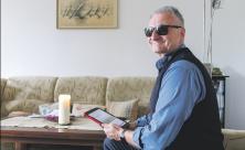 Blind, sehbehindert, Oliver Waage, PDF, Blindenschrift, vorlesen, digital,