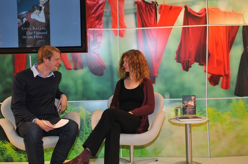 Kolja Mensing und Anna Kaleri – Förderpreisträgerin 2017