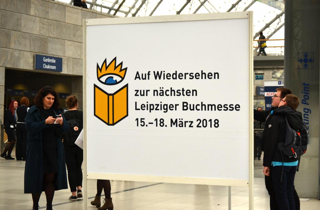 Die nächste Buchmesse findet vom 15. bis 18. März 2018 statt.
