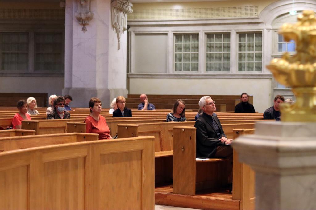Forum Frauenkirche Dresden Heinrich Bedford-Strohm