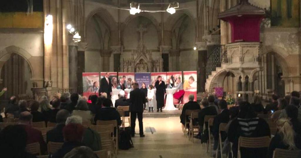 Schulstiftung Feier Peterskirche Leipzig Preisverleihung