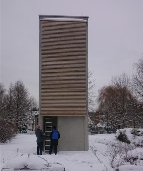 Sachsens derzeit neuester Glockenturm