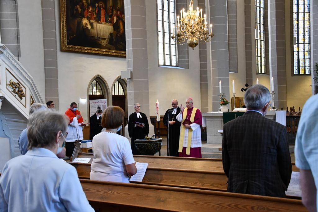 Bistum Dresden-Meißen, Landesbischof Tobias Bilz, Bischof Heinrich Timmerevers