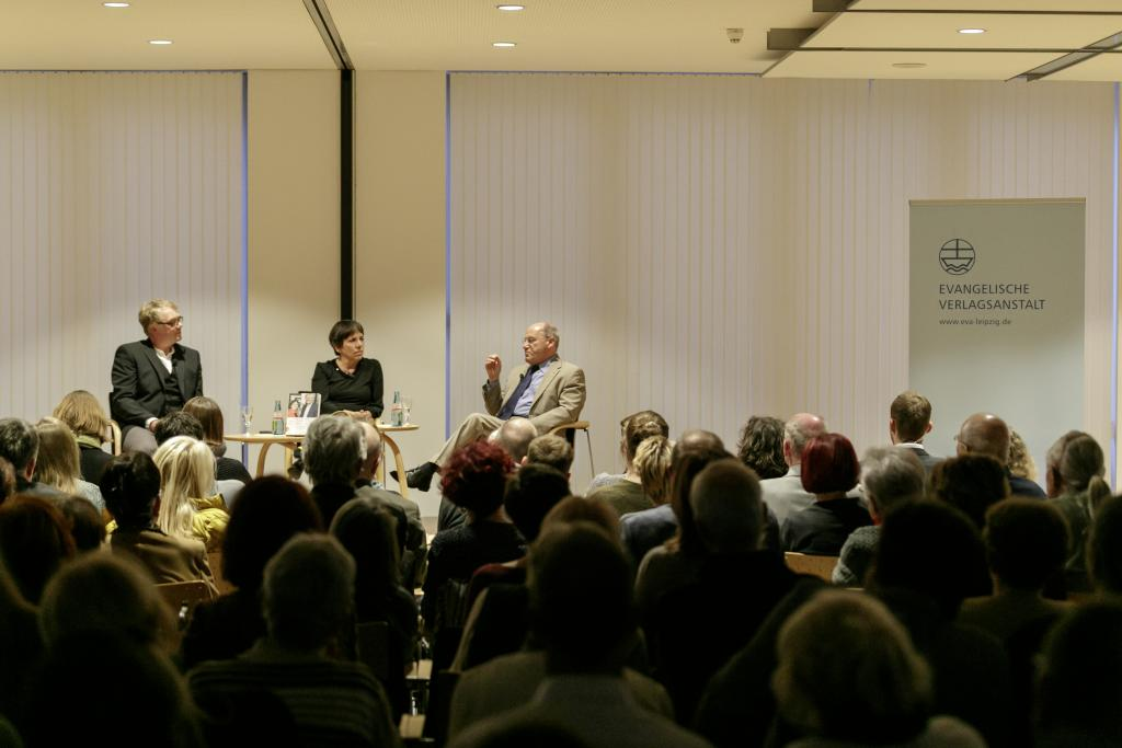Buchvorstellung mit Margot Käßmann und Gregor Gysi