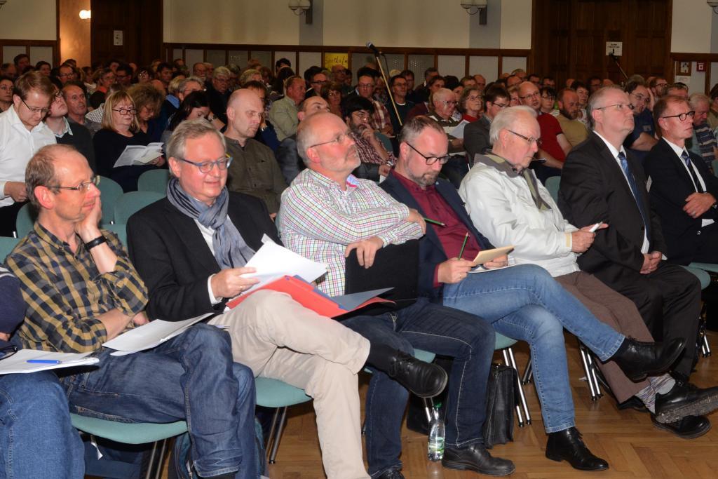 Veranstaltung am Montagabend in Rodewisch © Silke Keller-Thoß