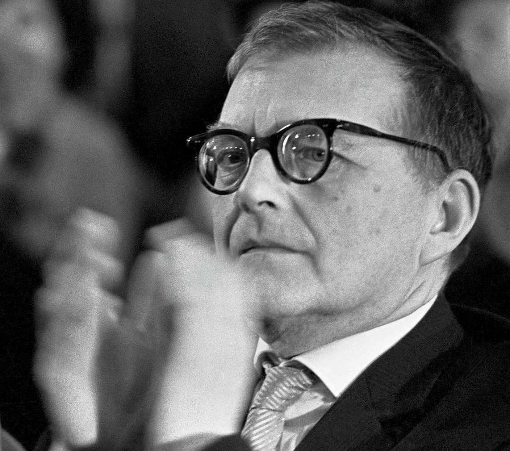 Schostakowitsch in Paris/Foto: Association internationale 'Dimitri Chostakovitch' Paris