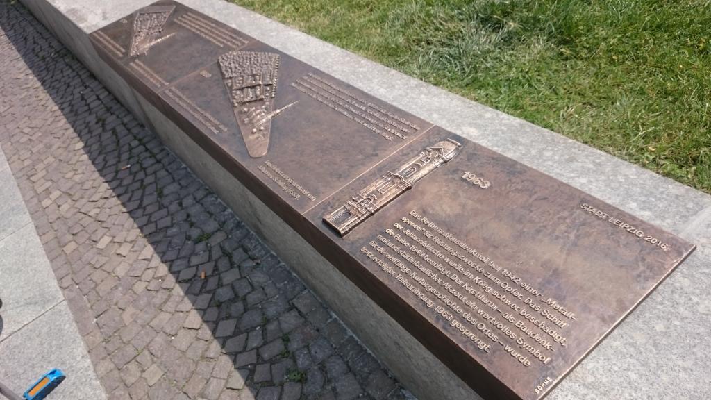 Bronzereliefs Johanniskirche Leipzig