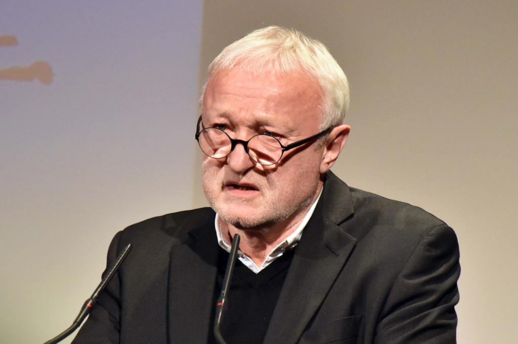 Werner Schulz hielt die Leipziger Rede zur Pressefreiheit © Armin Kühne
