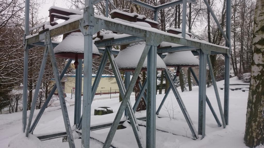 Die alten Glocken stammen aus dem Leipziger Land