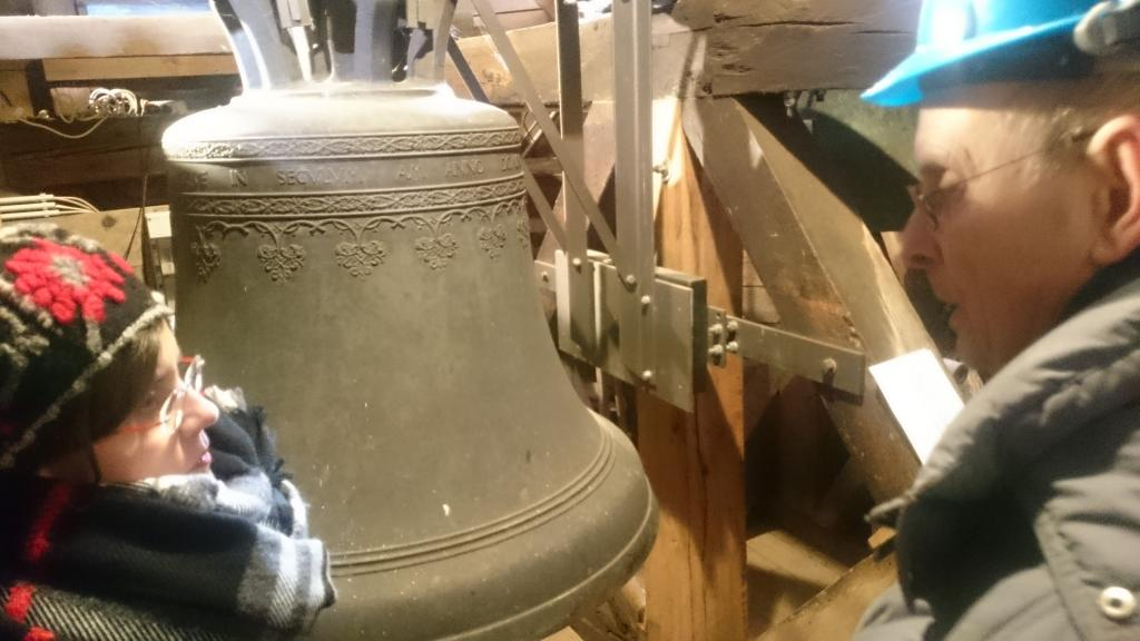 Die größte der drei Raußlitzer Glocken stammt aus dem Jahr 1519