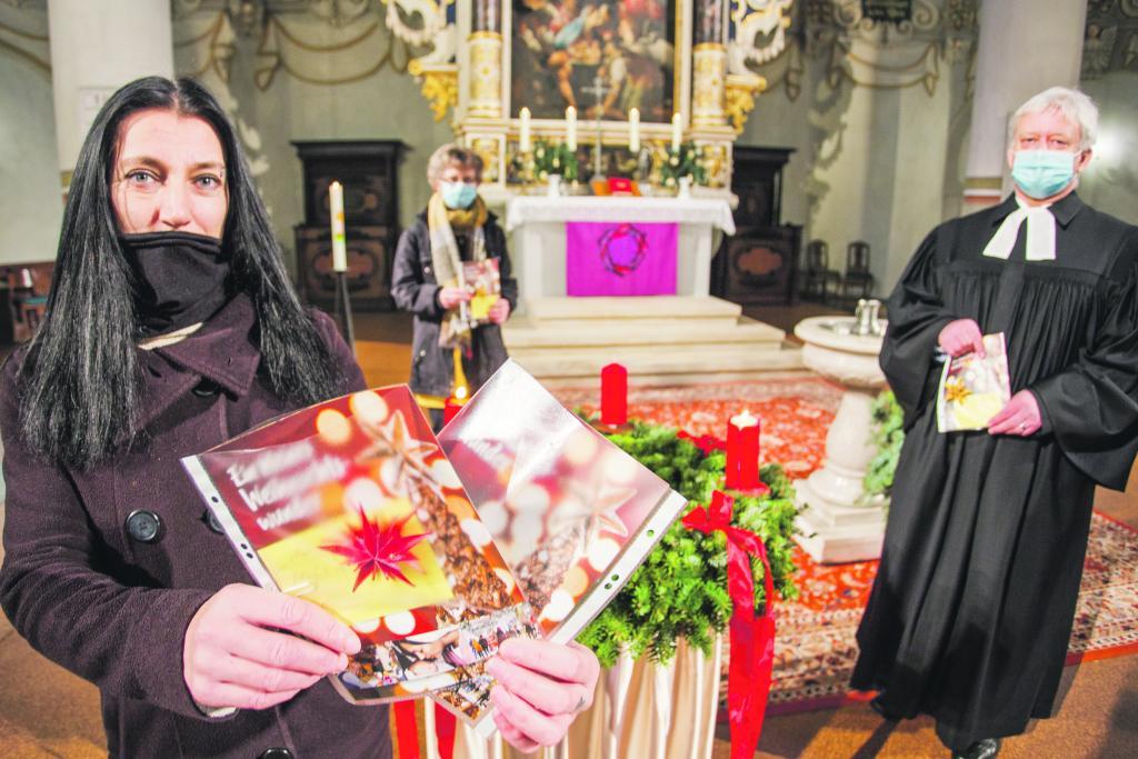 Marienkirche, Geschenke, Weihnachten, Advent, Corona