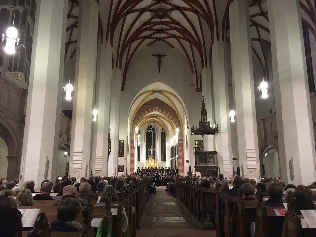 Friedensgebet Thomaskirche Thomanerchor