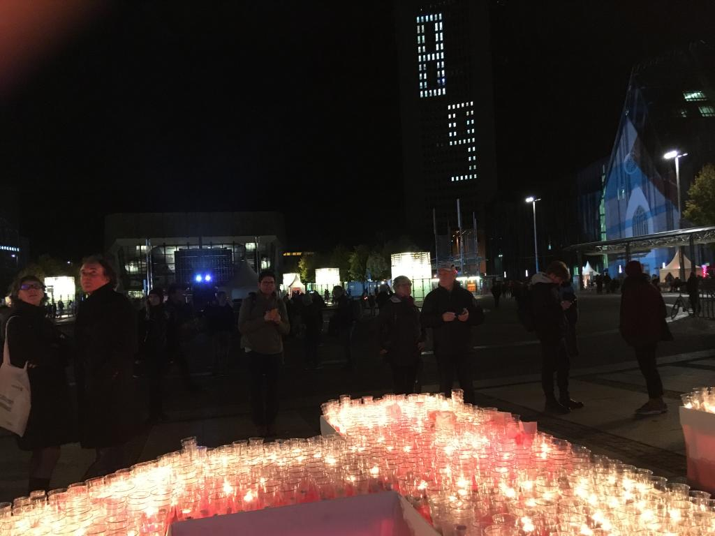 Augustusplatz Abend