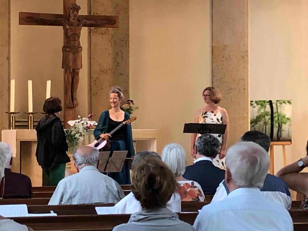 Bethlehemkirche Dresden-Tolkewitz, Tolkewitz, Gretel Wittenburg, Elke Jahn, Lieder, Romantik, Blumen, Garten, Herzensgarten, )