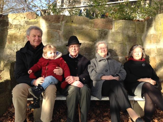 Jochen Bohl mit Familie
