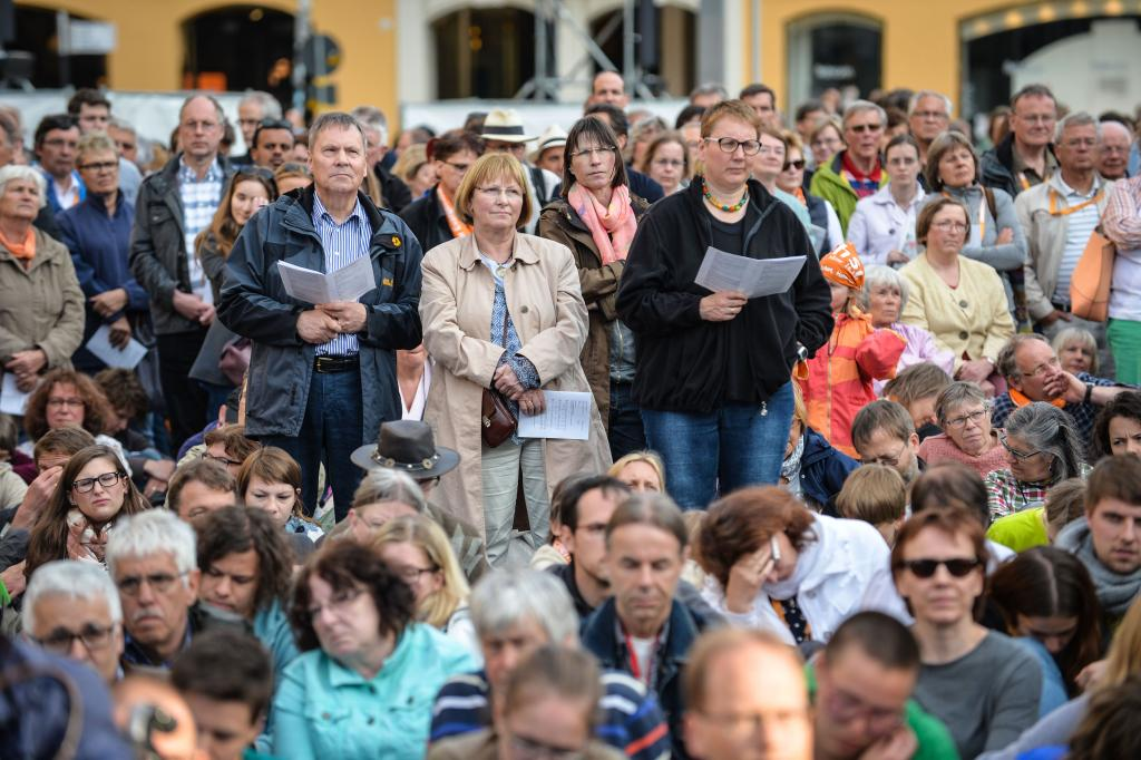 Kirchentag auf dem Weg Leipzig 2017