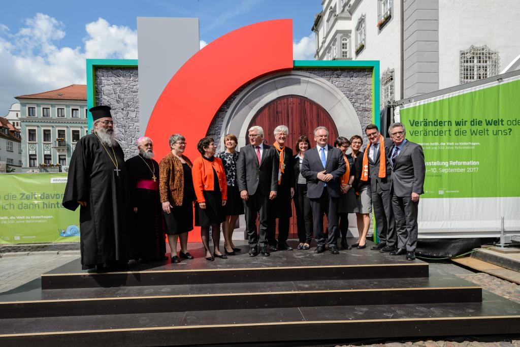 Eröffnung der Weltausstellung Reformation in Wittenberg. © r2017