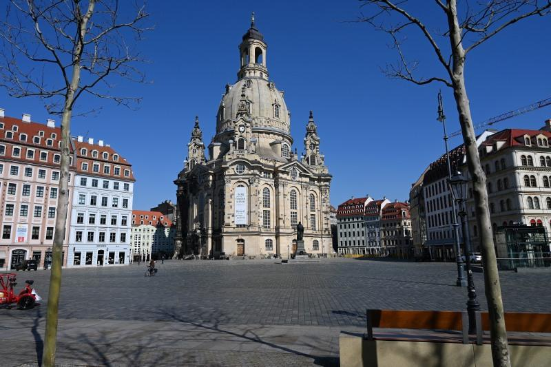 Frauenkirche, Dresden, Corona