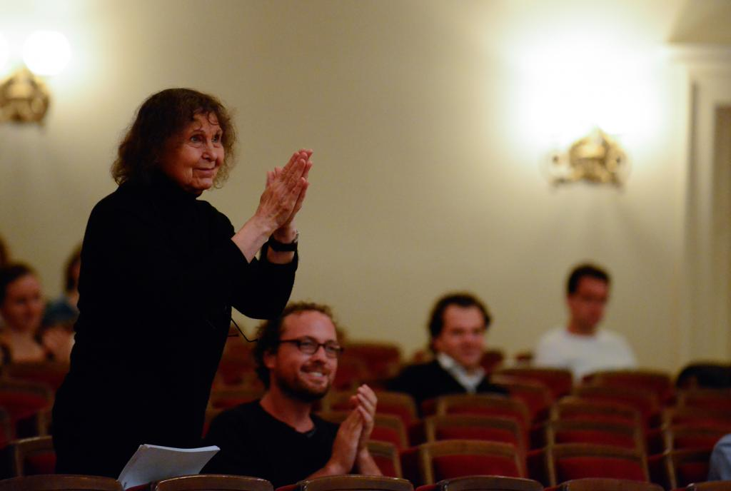 Sofia Gubaidulina erhält in diesem Jahr den Internationalen Schostakowitsch Preis Gohrisch/Foto: M. Creutziger