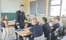 Bundeswehr, Schule, Andy Clemens, politische Bildung, Jugendoffizier, Kooperation