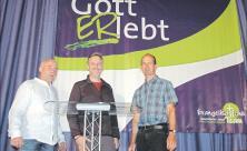 Andreas Pilz, Michael Wendler und Daniel Hess