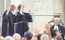 Gottesdienst, Verabschiedung, Gebärden, Gehörlosengemeinde, Leipzig, Gehörlose, Pfarrer, Martin Weithaas