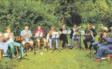 Pappendorf, Johannisandacht, Bläser, Johannistag