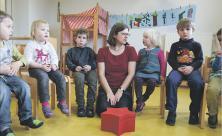 Kindergärten in Trägerschaft von Kirchgemeinden