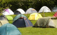 Gotha, Zeltstadt, Camper, Camping, christliches Camping
