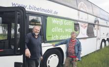 Bibelmobil braucht neuen Bus