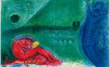 Marc Chagall, Kunsthaus Apolda, Ausstellung, Malerei,