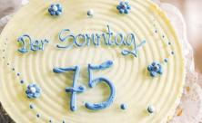 Jubiläum, Sonntag, Geburtstag, 75 Jahre SONNTAG, Leserstimmen, Gratulanten, Glückwünsche