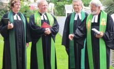 v.l.: Uta Krusche-Räder, Jörg Humboldt, Günther Hartmann, Harald Bretschneider