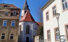 Kirche Mutzschen Ostern Corona
